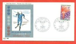 SCI DI FONDO - OLIMPIADI - SPORT- OLIMPIADI INVERNALI GRENOBLE 1968 - Inverno