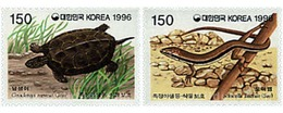 Ref. 28325 * MNH * - SOUTH KOREA. 1996. REPTILES . REPTILES - Korea (Süd-)