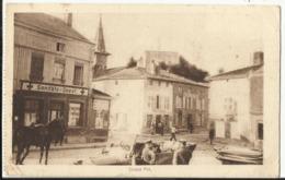 Grandpré - Grand Pré (Ardennes 08) Carte Allemande Feldpost 1916 - Francia