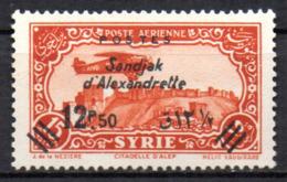 Col17  Colonie Alexandrette  N° 12 Neuf X MH  Cote  7,00€ - Neufs
