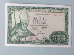ESPAGNE-1000 PESETAS 1965.XF - [ 3] 1936-1975 : Regime Di Franco