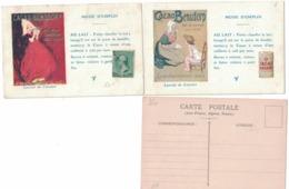 CARTOLINA PUBBLICITARIA POST CARD CARTE POSTALE  CACAO BENSDORP Mode D'emploi - Publicidad