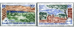 Ref. 343988 * MNH * - SOMALI COAST. 1965. LANDSCAPE . PAISAJE - Ongebruikt