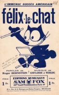 PARTITION FELIX LE CHAT - 1928 - EXCELLENT ETAT - Otros