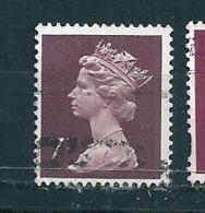 N° 734 Elisabeth II  GRANDE BRETAGNE GB 1974 7P - 1952-.... (Elizabeth II)