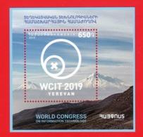 Armenia / Arménie / Armenien 2019, World Congress On Information Technology In Yerevan WCIT, SS - MNH - Computers