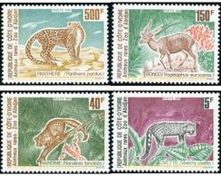 Ref. 30199 * MNH * - IVORY COAST. 1992. MAMMALS . MAMIFEROS - Briefmarken