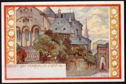 CPA PRECURSEUR ALLEMAGNE SERIE DE 1898- ILLUSTRATEUR FRANZ HEIN- VILLES ET MONUMENTS SUR LE RHIN : KÖLN - Künstlerkarten