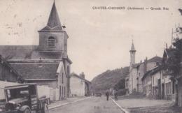 CHATEL-CHEHERY (08) Grande Rue .Camionnette - Altri Comuni