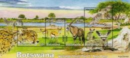 Botswana - 2019 - Wetlands, Part V - Nxai Pans - Mint Souvenir Sheet - Botswana (1966-...)