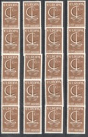 A630 1966 ANDORRA EUROPA CEPT ART LABELS 20STAMPS MNH - 1966