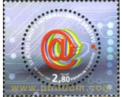 Ref. 174550 * MNH * - CROATIA. 2005. WORLD INFORMATIC CONFERENCE . CONFERENCIA MUNDIAL DE INFORMATICA - Computers