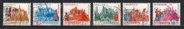 Luxembourg 1970 : Timbres Yvert & Tellier N° 764 - 765 - 766 - 767 - 768 Et 769 Oblit. - Gebruikt