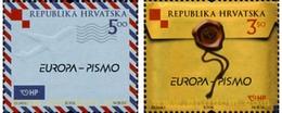 Ref. 215647 * MNH * - CROATIA. 2008. EUROPA CEPT. 2008 LETTERS . EUROPA CEPT 2008 CARTAS - Altri