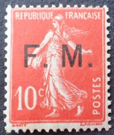R1615/1267 - 1906 - TYPE SEMEUSE - FM - N°5  NEUF** - Franchise Militaire (timbres)