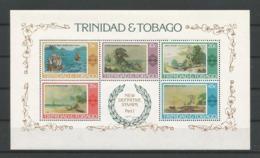 Trinidad & Tobago 1976 Paintings S/S Y.T. BF 17 ** - Trinité & Tobago (1962-...)