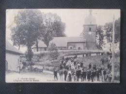 3 - CUVIER (Jura) L'Eglise , Sortie De Messe - Other Municipalities