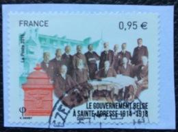 France Used 2015 Belgian Government At Sainte-Adresse 1914-1918 - 2010-.. Matasellados