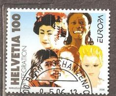 Switzerland: Single Used Stamp, EUROPA, 2006, Mi#1965, - Suisse