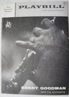 Magazine The American Teatre PLAYBILL EXPO 58 BENNY GOODMAN Jazz Concert In The US Pavilion Bruxelles Brussel Belgium - Vieux Papiers