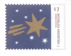 SOBRE PREFRANQUEADO DE NAVIDAD - ENTERO POSTAL REPUBLICA ARGENTINA AÑO 2012 RARISIME NOEL CHRISTMAS  XMAS - Interi Postali
