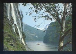 Noruega. Geiranger. *Geirangerfjorden...* Foto: Normann. Nueva. - Noruega