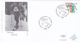BUSTA FDC ESTONIE ESTONIA - XX  GIOCHI OLIMPICI INVERNALI -  TORINO 2006 - Estonia