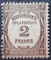 R1615/1273 - 1927 - TIMBRE TAXE - N°62 ☉ - Portomarken