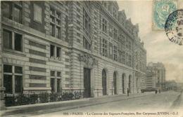 PARIS  18eme Arrondissement  LA CASERNE DES SAPEURS POMPIERS Rue Carpeaux - District 18