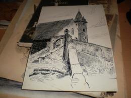 Drawings Church - Dibujos