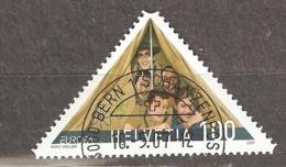 Switzerland: Single Used Stamp, EUROPA, 2007, Mi#2011, - Switzerland