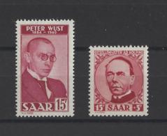 SARRE.  YT  N° 258-269  Neuf **  1950 - 1947-56 Occupation Alliée