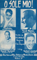 PARTITION DALIDA ROSSI MORENO - O SOLE MIO - 1961 - ETAT EXCEPTIONNEL - - Otros