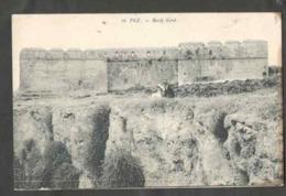 Maroc. Fès. Le Bordj Nord. La Tour Nord. Remparts Et Murailles. Circulé 1919. - Monuments