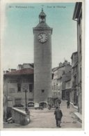 01 - TREVOUX - ( AIN ) - T.B. Vue Animée/couleur De La Tour De L'Horloge ( Jh. Descombes Serrurier ) - Trévoux