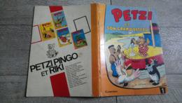 Petzi Et Son Grand Bateau De Hansen Casterman Bande Dessinée Rare Enfantina 1967 - Livres, BD, Revues