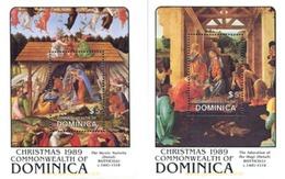 Ref. 306779 * MNH * - DOMINICA. 1989. CHRISTMAS . NAVIDAD - Dominica (1978-...)