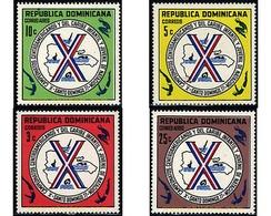 Ref. 48690 * MNH * - DOMINICANA. 1977. 10th CARIBBEAN JUNIOR SWIMMING CHAMPIONSHIP . 10 CAMPEONATOS JUVENILES DE NATACIO - Swimming