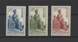 SARRE.  YT  N° 273/275  Neuf **  1950 - 1947-56 Occupation Alliée