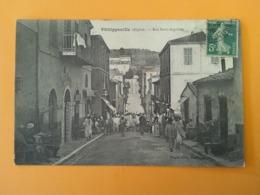 Philippeville Algérie Rue Saint Augustin - Algérie