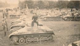 WWII  FOTO 9 X 6 CM - PANZERDIVISIE - ( J-G) KOMP.INF.- REGT.11  ZIE 3 SCANS - Guerre 1939-45