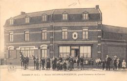 62-LAVENTIE- MAISON LECLERCQ-MASQUELIN, GRAND COMMERCE DE CHEVAUX - Laventie