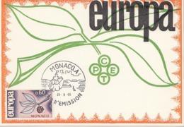 MONACO Maximum Card 811 - Europa-CEPT
