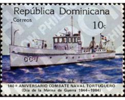 Ref. 308071 * MNH * - DOMINICANA. 1984. WAR NAVY DAY . DIA DE LA MARINA DE GUERRA - Bateaux