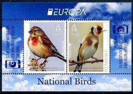 Europa 2019 - Guernsey Guernesey - Feuillet Oiseaux (Linnet, Goldfinch) ** - 2019