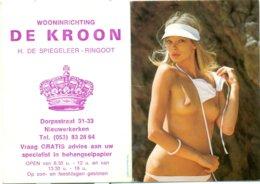 Kalender 1990 - Wooninrichting De Kroon Nieuwerkerken - Calendriers