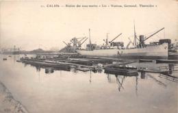 62-CALAIS- STATION DES SOUS-MARIN LES VENTOSE, GERMINAL THERMIDOR - Calais