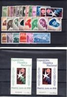 España Año 1958 + H.B. Bruselas, Año Completo En Nuevo. - España