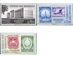 Ref. 309146 * MNH * - ECUADOR. 1958. EXPOSICION FILATELICA NACIONAL - EXFIGUA-58 - Universal Expositions