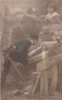 Lr Rêve D'un Poilu Qui Pense à Son Petit Frère - Guerre 1914-18